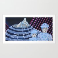 tron Art Prints featuring Tron by Robert E. Richards