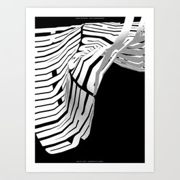 San Francisco(s): Constantly Windy, Version 3 (May 23, 2017) Art Print