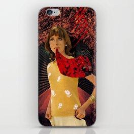 Talking Blooms iPhone Skin
