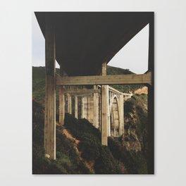 Looking up at Bixby  Canvas Print
