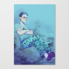 [disgruntled whale sounds] Canvas Print