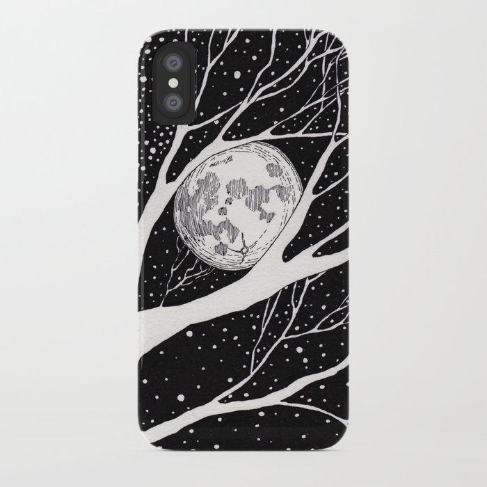 moonlight shadow iPhone Case