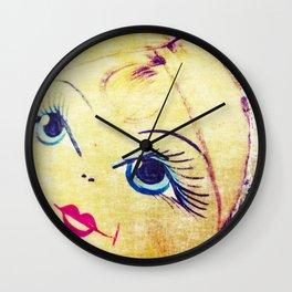 Babushka nesting doll Wall Clock