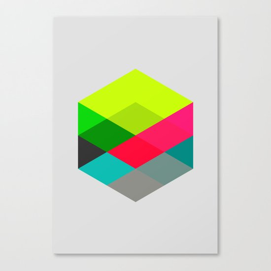 Hex series 3.2 Canvas Print