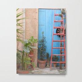 Italian Garden Metal Print