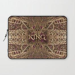 Rose Gold King Laptop Sleeve