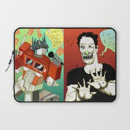 Pop mix of the some of the greats pop culture memories.  Laptop Sleeve