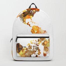Design 102 World Map Backpack