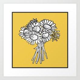 Beautiful Flowers #2 Tournesol Art Print