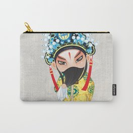 Beijing Opera Character LiuBei Carry-All Pouch