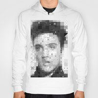 elvis Hoodies featuring Elvis by Artstiles