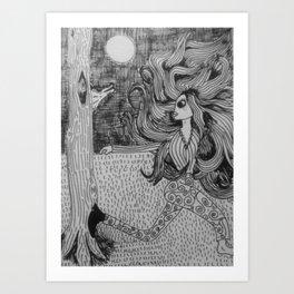 Where's the wolf Art Print
