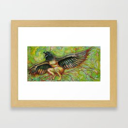 The Becoming Framed Art Print