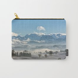 Swiss winter Carry-All Pouch