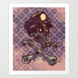 Jacky Wacky Art Print