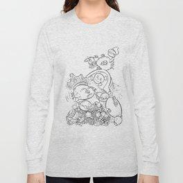 Buried Treasure - ink Long Sleeve T-shirt