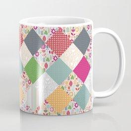 paper cut flower diamonds Coffee Mug