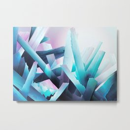 Crystal Madness Metal Print