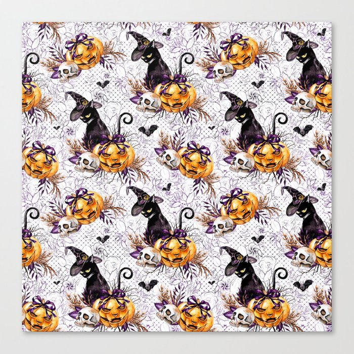 Halloween Witch #4 Canvas Print