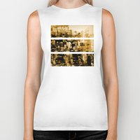 chicago Biker Tanks featuring Chicago by DM Davis