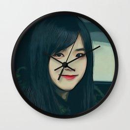 Kim Jisoo Wall Clock
