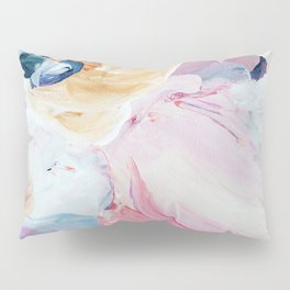 Returning II Abstract Painting  Pillow Sham