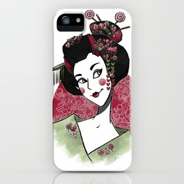 Decora Geisha iPhone Case