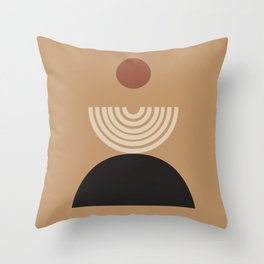 Nascita del sole - The birth of the sun - Modern abstract art Throw Pillow
