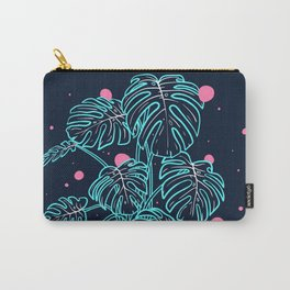 Monstera Deliciosa in the Night Carry-All Pouch