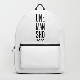 ONE MAN Show Backpack