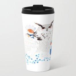 Mamma Owl Metal Travel Mug