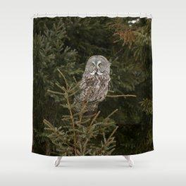 Pine Prince Shower Curtain