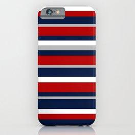 Flag Stripes iPhone Case