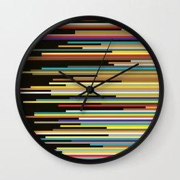 Color Shift Wall Clock