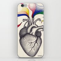 creativity iPhone & iPod Skins featuring Creativity by Kaylyn Powell
