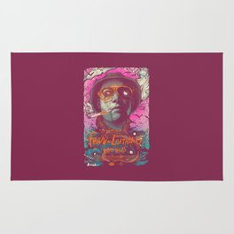 fear and loathing Rug