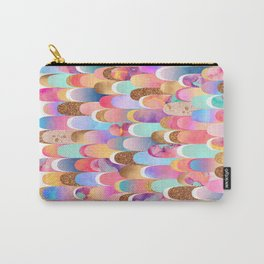 Feathered - Colorful Carry-All Pouch