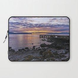 Portencross Jetty Sunset Laptop Sleeve