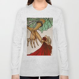 Hands (Breathe in, breathe out) Long Sleeve T-shirt
