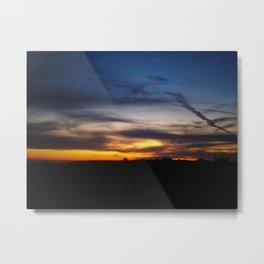 Contrast Sky Metal Print