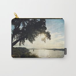 Mississippi River at Natchez Carry-All Pouch