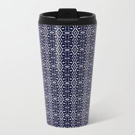 Meshed in Blue Travel Mug