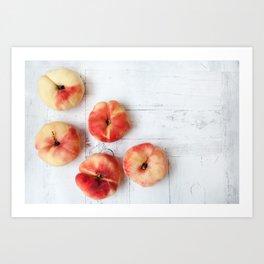 Fig peaches Art Print