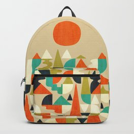 Mountains Hills and Rivers Backpack