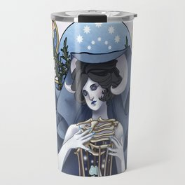 Lady Winter Travel Mug