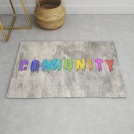 Community Paint Rug