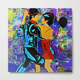 Tango:  Dance The Tango With Me My Love Metal Print