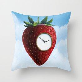 D (StrawberryClock's Dream) Throw Pillow