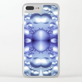 Oil and Water Colors 4 Clear iPhone Case