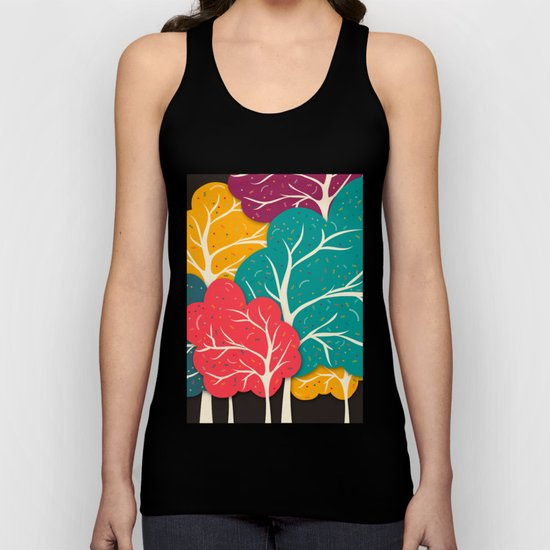 Happy Forest Unisex Tank Top